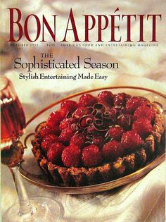 Buy any of our magazines and get another for 50% off.The Sophisticated Season, Bon Appetit Cooking Magazine, Oct 1995 Vol.40 No.10