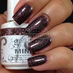 Gelish Whose Cider Are You On? swatch by Chickettes.com