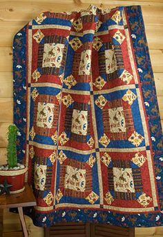 Debbie Mumm: Home Decor Project February 2009 hors quilt, quilt projects, debbi mumm, twin quilt, decor project, quilts, cowboy quilt, februari 2009, homes