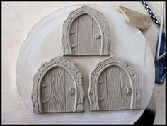 Clay Fairy Door Digital Download & Tutorial ($2.50) Craftsy