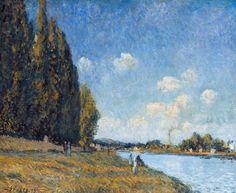 Alfred Sisley - The Seine at Billancourt