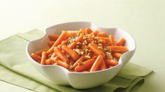 The natural sweetness of carrots goes well with maple flavors in this easy side dish.