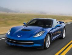 2016 Chevrolet Corvette Stingray Coupe.  Meet the old 'vette, same as the new 'vette. Oh, some different colors? Yawn.