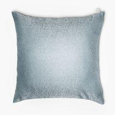 Lennol | BIANCA Shimmering cushion, aqua