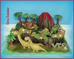 dinosaurus taart - Google zoeken