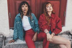 Join Swedish popstars Icona Pop on Gotland – the island where they come to breathe fresh air and dance the pain away. Air Yoga, Icona Pop, Old Gas Stations, Cute Cottage, Nice Bikinis, Pop S, Summer Parties, Beach Fun, High Waist Jeans