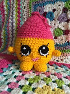 Shopkins Crochet Pattern  June balloon birthday by Crochetkins
