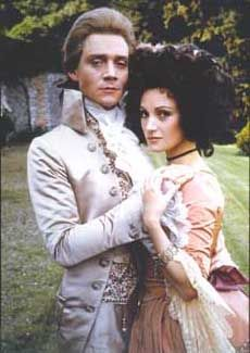 """Anthony Andrews and Jane Seymour in """"The Scarlet Pimpernel"""""""