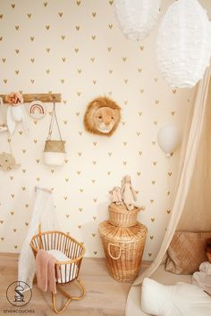 Baby Bedroom, Nursery Room, Kids Bedroom, Nursery Decor, Baby Posters, Living Room Accents, Baby Room Design, Big Girl Rooms, Kidsroom