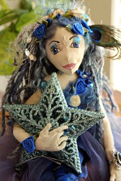 handmade  Doll  Fairy  Hand crafted one of a kind Crafted by RavenshiresRealm