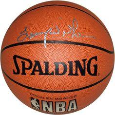 Lenny Wilkens Autographed NBA Basketball #SportsMemorabilia #PortlandTrailblazers