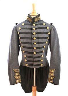 Star Trek Generations 19th Siècle Marine Uniforme Cosplay Costume custom made {S 5}