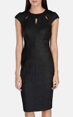 fc3978f41e98b Buy Karen Millen Women  Black Cutout Textured Dress, starting at Similar  products also available.