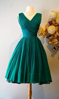 1950's Christian Dior cocktail dress | Vintage Clothing ...