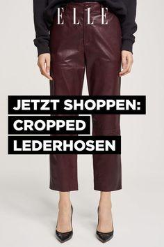Cropped Lederhosen sind ein echtes Mode-Multitalent!   ELLE