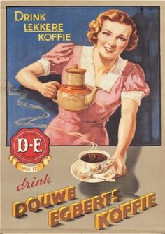 The Dutch people drink a lot of coffee and douwe egbert is the most know brand. there are more countries who drink a lot of coffee but every country has different rituals of drinking it. For example: in italy you can only drink coffee with milk, like cappuccino and latte macchiato in the morning. Another difference is the stongness of the coffee, Compared to other countries the Dutch coffee is not very strong but the American coffee is way worse