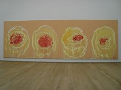 Cy Twombly roses