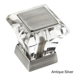 Amerock Abernathy Crystal Cabinet Knob (Pack of 5) - Overstock Shopping - Big Discounts on Amerock Cabinet Hardware $39.99