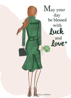 Luck and love.
