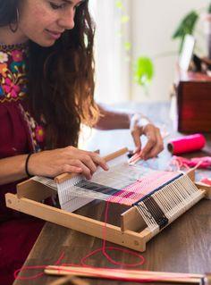 Maryann Moodie weavi