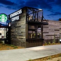 Different from any coffee outlet you've seen is this newly opened drive-thru, walk-up and modular Starbucks store in Colorado.