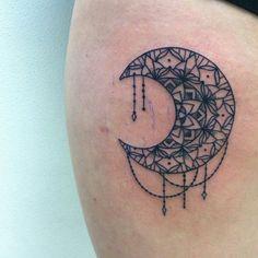 My brand new mandala moon, courtesy of Niki Woltja at Glenn ...