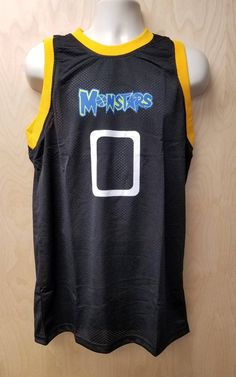 Monstars Jersey Basketball Uniform Movie Halloween Costume Shirt 0 Player  Monsters Tune Squad Too 8e131b370