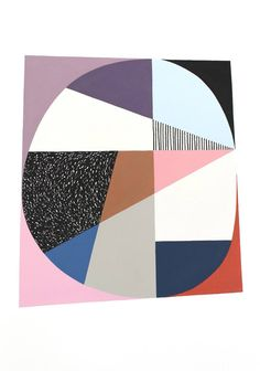 """Saatchi Art Artist Eloise Renouf; Painting, """"Almost Circle, Almost Square"""" #art"""