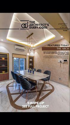 Home Map Design, Dream Home Design, Wall Design, Apartment Interior Design, Luxury Interior Design, Interior Designing, Dinning Table Design, Dining Area, Modern Kitchen Design