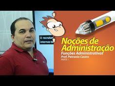 Noções de Administração - Funções Administrativas (1 de 3)