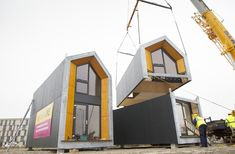 "These inexpensive ""squatters homes"" could provide relief to NYC's affordable housing crisis. Learn more about the Heijmans ONE ahead."