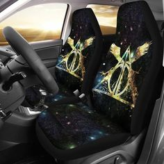 New 2pc Elite Style Car Truck Synthetic Leather Front Seat Covers for Mopar