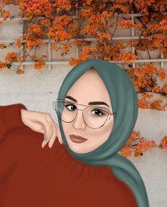 Middle Eastern Makeup, Hijab Drawing, Hijab Cartoon, Change Image, 5 Image, Change Background, Photoshop Design, Image Editing, Photo Backgrounds