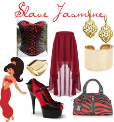 """Classy Slave Jasmine"" by pandamestas ❤ liked on Polyvore"