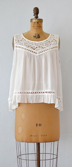 Milk and Honey Top | vintage inspired top by Adored Vintage