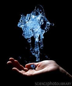 (open) I mumble the spell as I begin to create the water. After a while, I begin to start controlling it and my smile widens as I make shapes. I hear the door open to the roof and lose my concentration. Making me groan and turn to look at you. -Mari