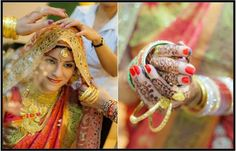 That #BeautifulChoora in hands of a #KashmiriBride.    Image Courtesy: pinterest.com