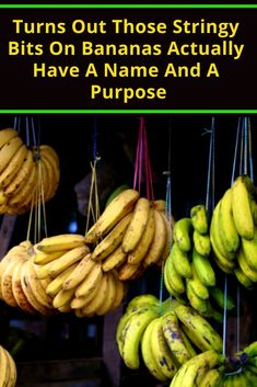 Turns Out Those Stringy Bits On Bananas Actually Have A Name And A Purpose