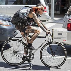 Road Warrior. Bay Street (sigma.) Tags: street girls toronto streets fashion bike photography cycling women cyclist with style tattoos bicycles courier