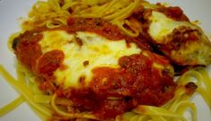 Baked Chicken Parmesan | Delicious! I just made this for my husband. It was definitely a recipe to keep for a long time. Loved it!
