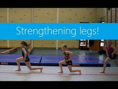 Warm ups! Getting warm & strengthening legs Gymnastics Warm Ups, Gymnastics Levels, Gymnastics Lessons, Preschool Gymnastics, Gymnastics Room, Tumbling Gymnastics, Gymnastics Coaching, Gymnastics Training, Amazing Gymnastics