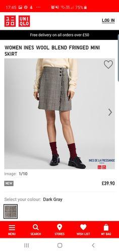 Paris Images, My Bags, Wool Blend, Lace Skirt, The Selection, Mini Skirts, Autumn, Color, Women