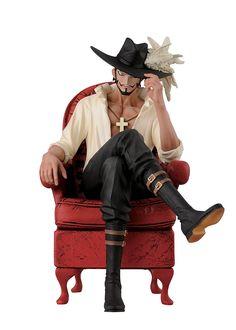 Banpresto One Piece 5.5-Inch Mihawk Creator x Creator Series Figure, Dracule.Mihawk