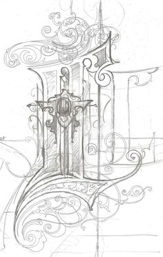 Image result for illuminated letter design