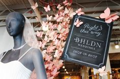 NESTLED IN THE HEART OF BEVERLY HILLS, amidst chic boutiques and eateries, our third and newest bridal shop is perched on the mezzanine level of our sister brand, Anthropologie's Beverly Drive store. #bhldnla