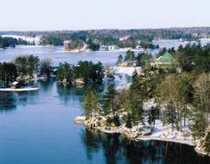 2014 Scenes of Ontario Business Promotion Calendars - January 2014 - Thousand Islands Canada Wall, Thousand Islands, Ontario, Promotion, January, Calendar, River, Business, Outdoor