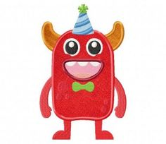 Monster-Bday-Applique-5×7-Inch