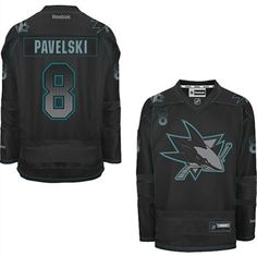 74c2755c0 Joe Pavelski-Buy 100% official Reebok Joe Pavelski Men s Premier  Accelerator Black Jersey NHL San Jose Sharks  8 Free Shipping.