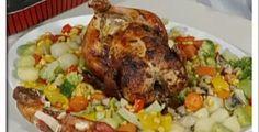 طريقة اعداد الدجاج على الزجاجة في الفرن بطريقة بسيطه    مكونات عمل الدجاج على القنينة  **  دجاجة كاملة  ** 2 بصلة مقطعة ارباع.  ** 1....