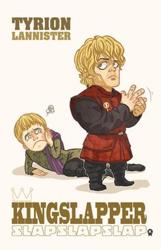 Game of Thrones fan art that makes us want to slap King Joffrey. Because who doesn't want to slap Joffrey?